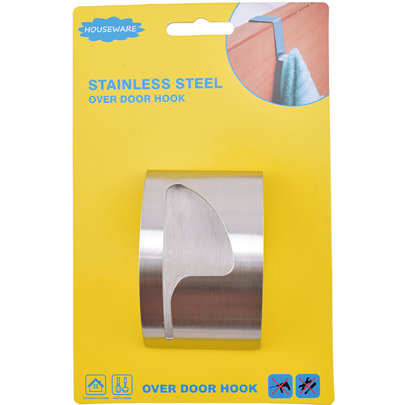 SH6.026 Stainless Steel Adhesive Kitchen Towel Hook