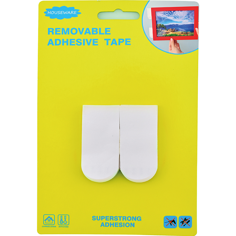 SH14.014 Removable Adhesive Double Sided Tape For Hook