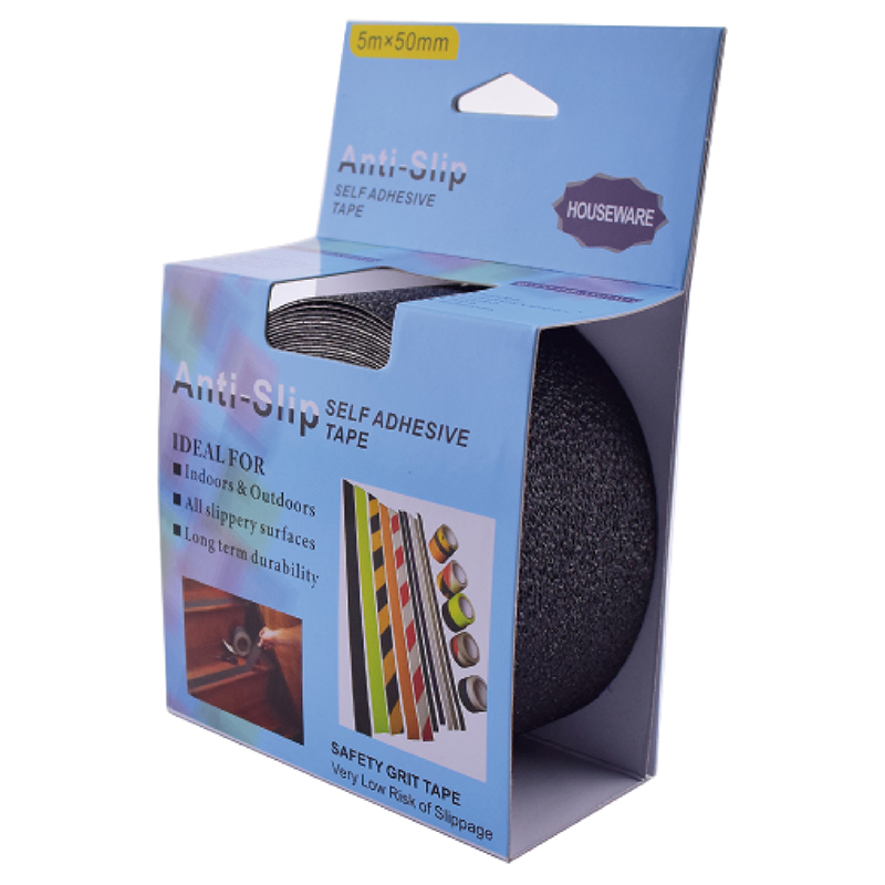 SH18.019   Black PVC Adhesive Safety Walking Tape For Hall Floor
