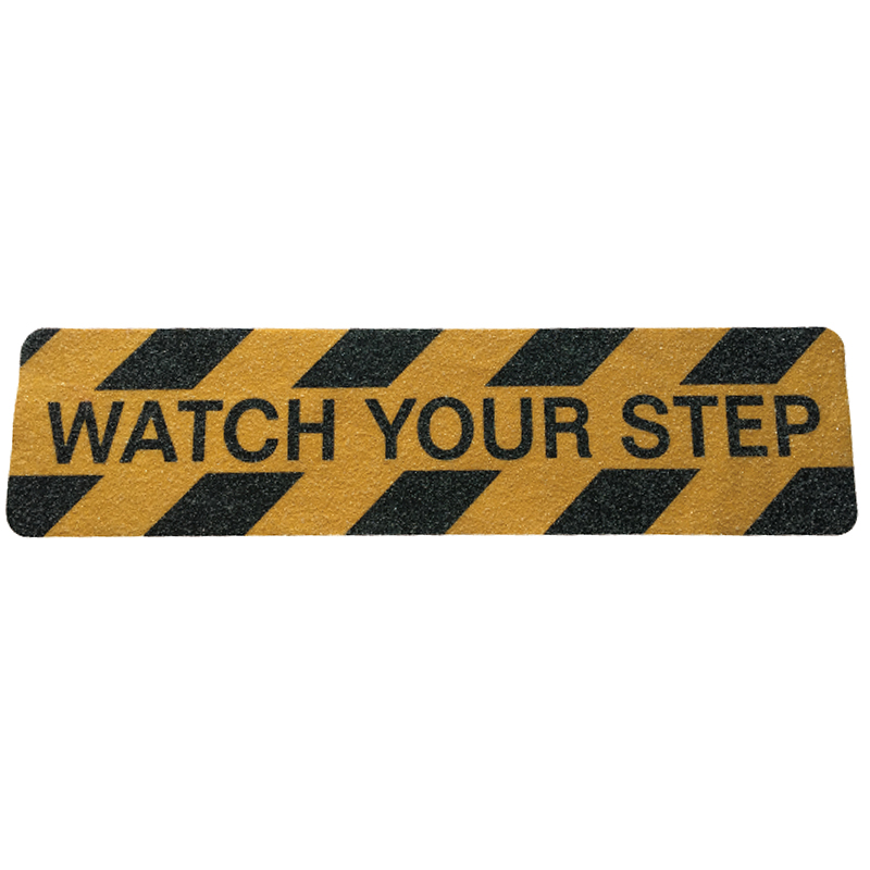 SH18.022   PVC Anti Slip Tape Of Watch Your Step For Stairs