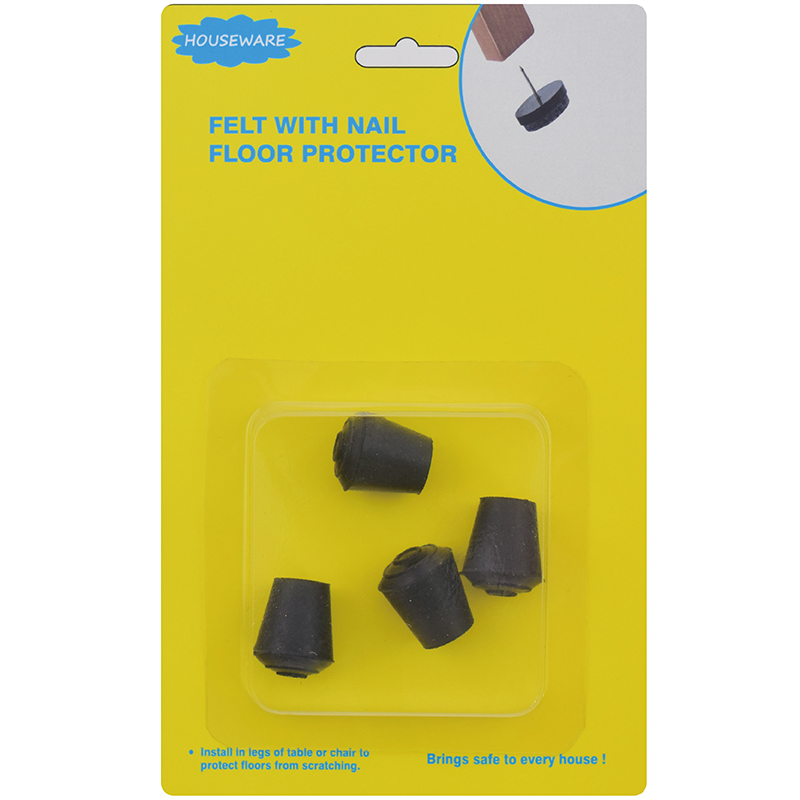 SH19.036 Durable Rubber Chair Cap For Floor Protector