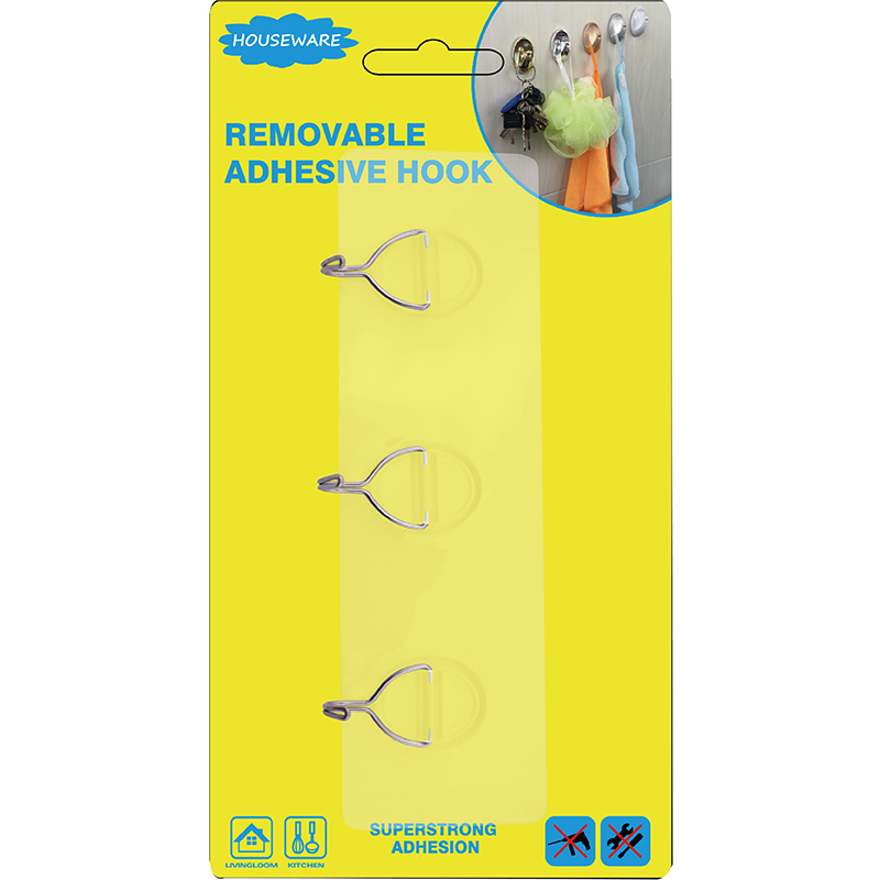 SH7.019 Reusable Hook with Three Hangers