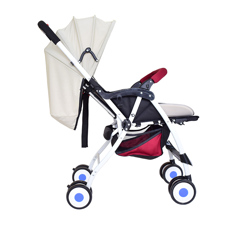 SH1.127 Baby Strollers Rain Cover/Waterproof PVC Baby Carriages/foldable baby carriage
