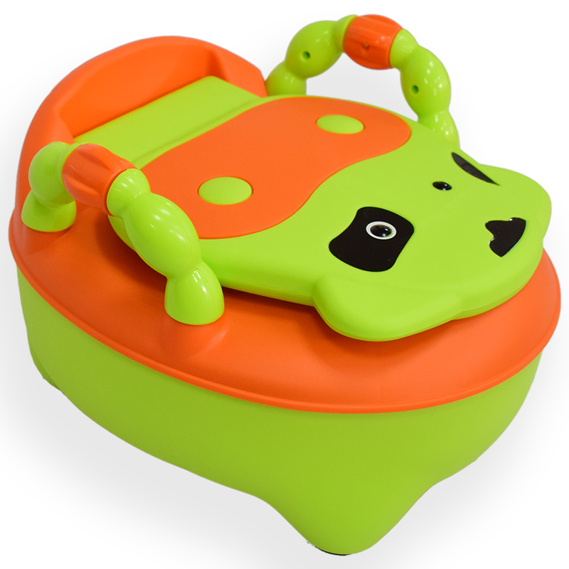 SH1.131Lovely cow baby urinal seat kids potty seat