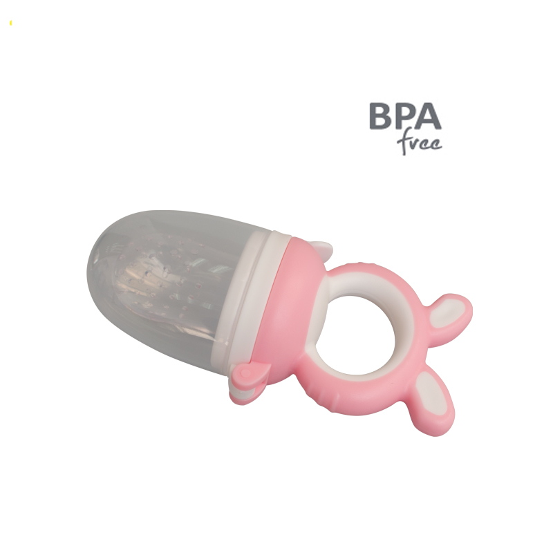 Portable Soft Soothe Silicone Pacifier BPA free Baby  Fresh Fruit Food Feeder