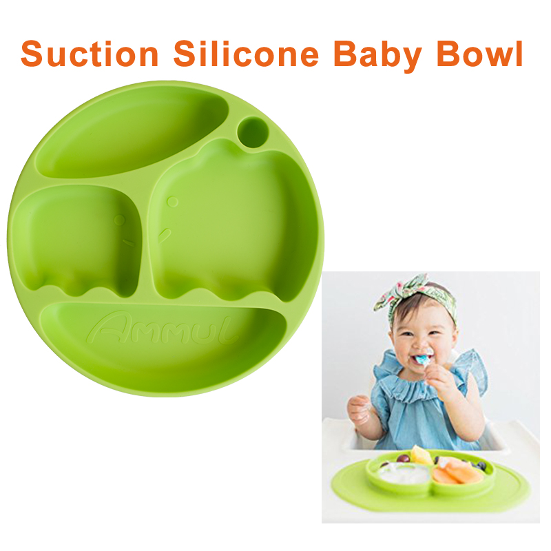 SH1.269 New suction silicone baby bowl