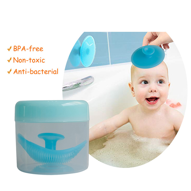 SH1.266A Baby Body Wash Soft Bath Silicone Brush