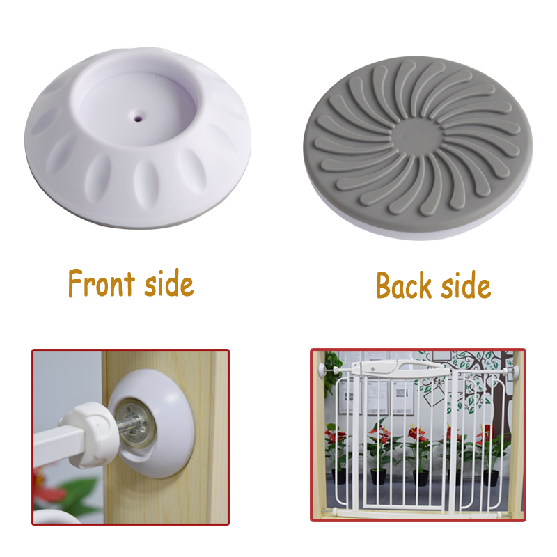SH1.173C 2018 hot sell wall guard pads wall protectors for baby safety pressure gates