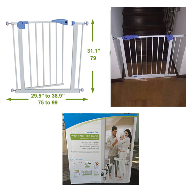 SH21.005A baby safety metal door gate