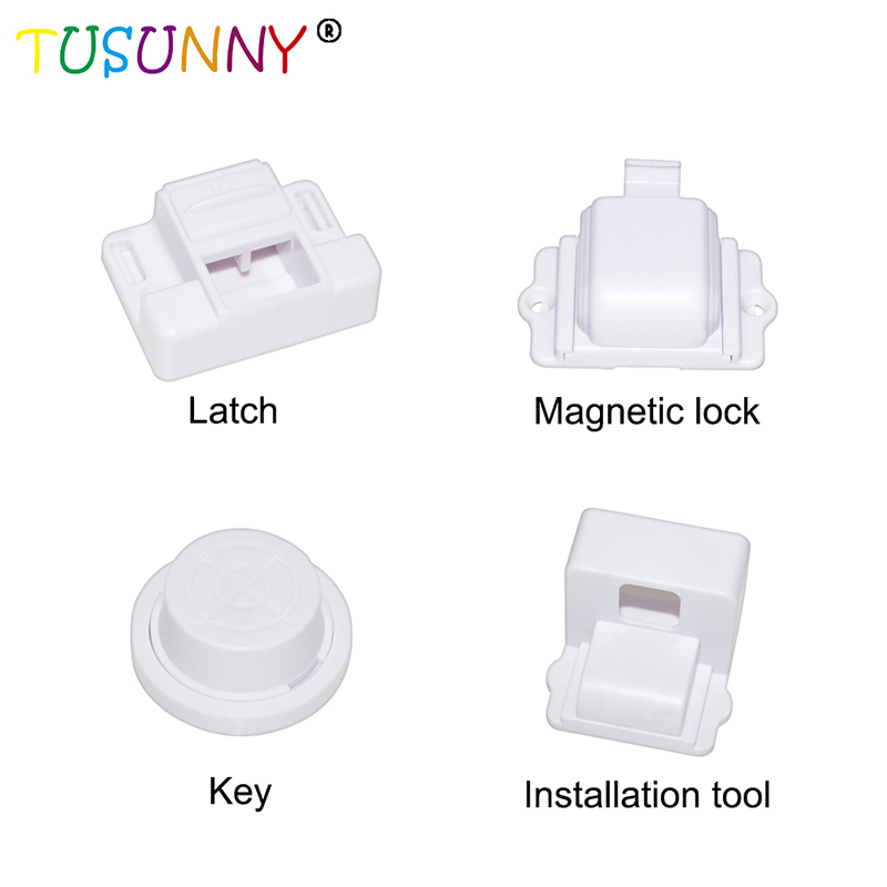 SH1.106C New design baby safety magnetic lock for cabinet