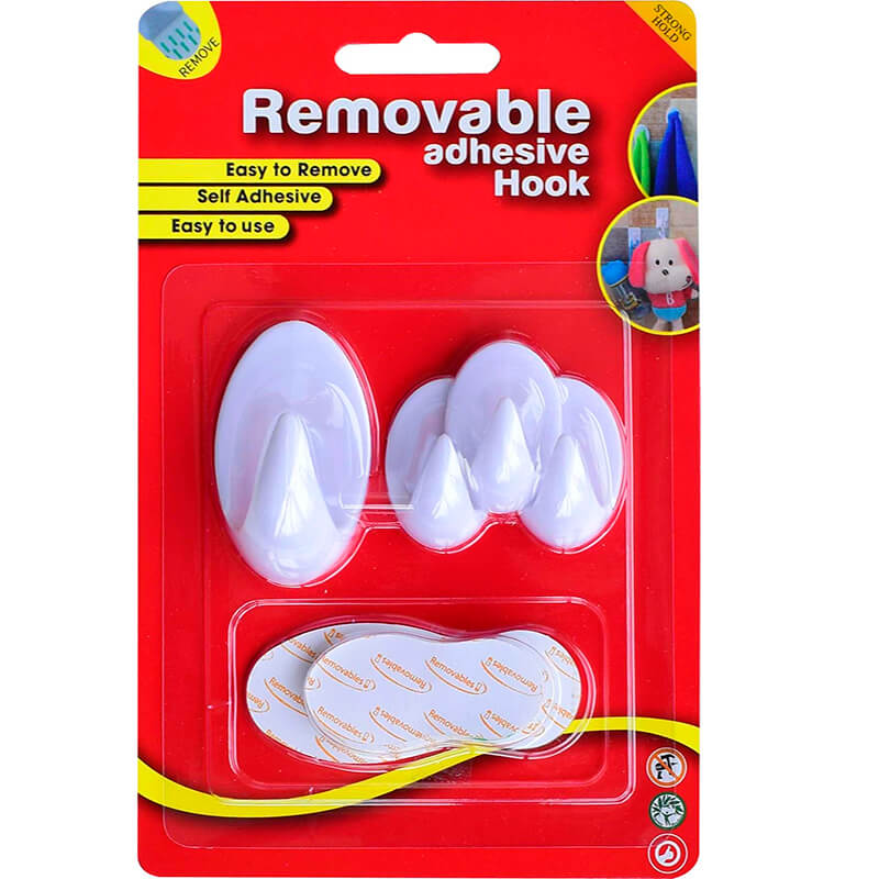 SH2.003 Removable Adhesive Hooks and Hangers
