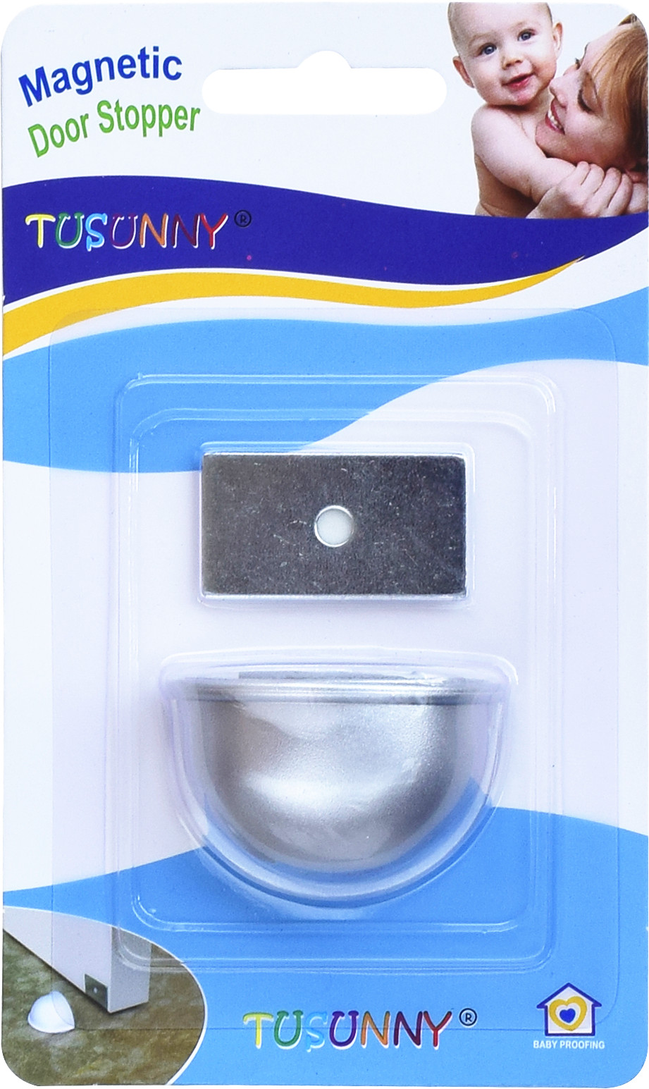 SH1.172W Baby Safety Magnetic Door Stopper